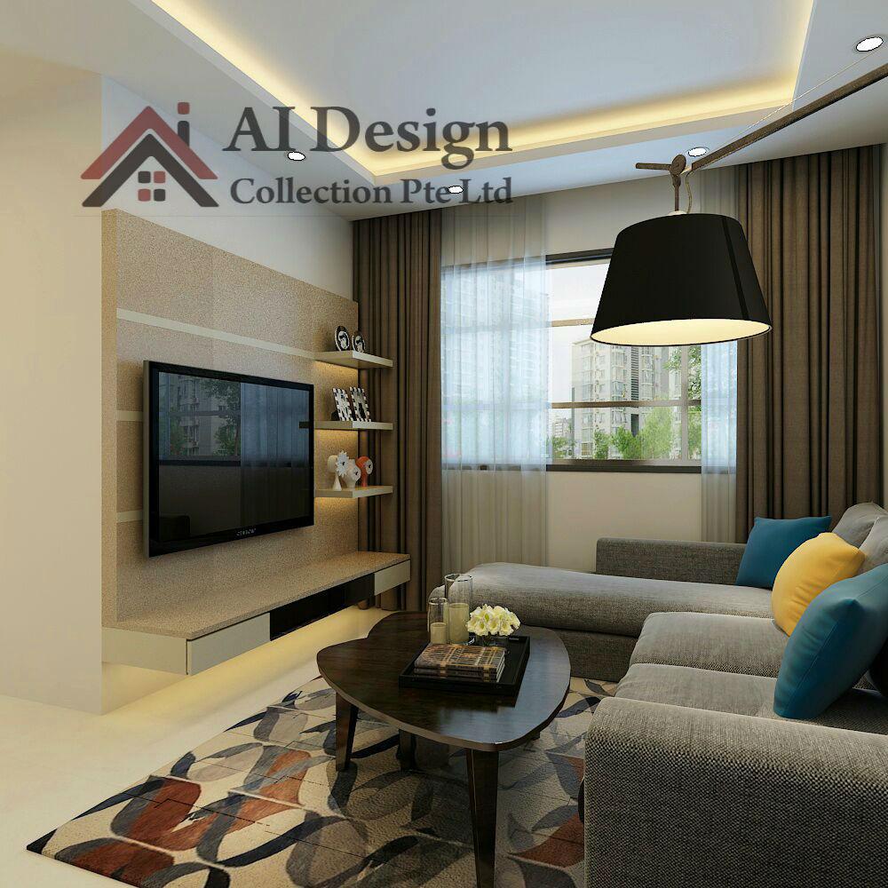 Interior Design For Hdb At Ang Mo Kio Avenue 1: Interior Design
