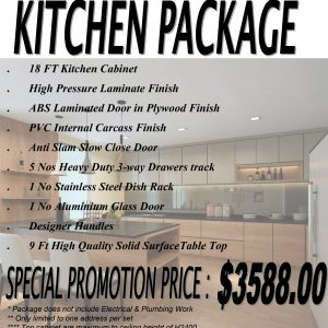 Kitchen Promotion Package