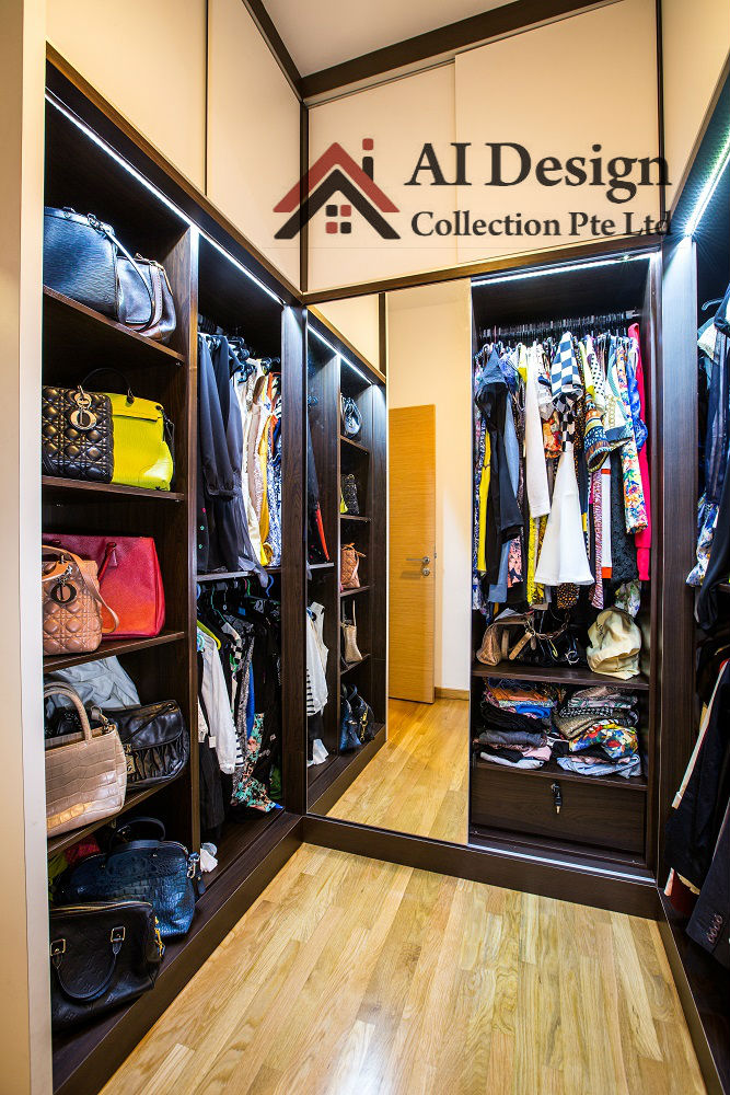 Double Bay Residences Walk In Closet